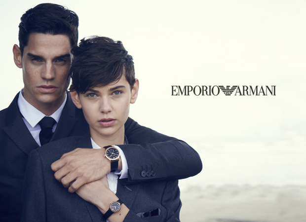 EMPORIO ARMANI WATCH CHINA ROAD SHOW
