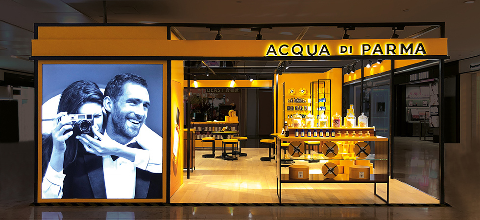 Acqua di Parma Najing Pop Up Store