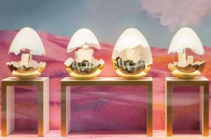 Dodo Jewels 25 anniversary shop window animation